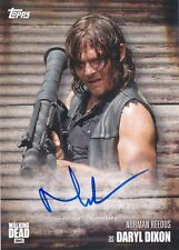 2017 Topps Walking Dead Season 6 Norman Reedus Daryl Autograph Auto Card (D)