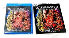 Wishmaster Collection 4-Film collection ~ NEW & SEALED ~ w/ Sleeve
