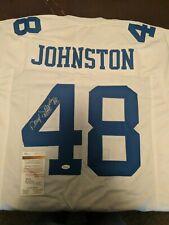 JSA COA Daryl Johnston Signed Dallas Cowboys Custom Jersey