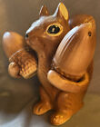 Vintage Salt & Pepper Shakers Squirrel With Nuts 🌰 🐿