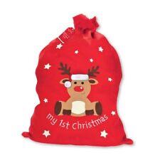 Baby's Primera Navidad Santa Saco 1st Navidad