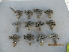 12 Nelson & Others Brass Irrigation Sprinklers