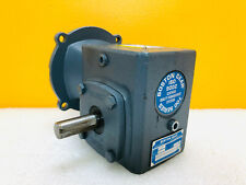 Boston Gear F715-10B5-J Right Hand Output Worm Gear Reducer. Tested!
