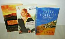 LOT OF 3~BRIDES & WEDDINGS BOOKS~~CHRISTIAN FICTION~SOFT COVER~~GC TO VGC