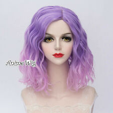 Cosplay Wigs Heat Resistant Curly Medium Anime Cosplay Prop 21 Colors Xmas Gifts