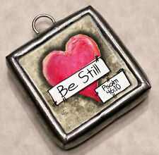 """Large 1-1/2"""" Necklace Pendant Charm by IMCC & Dangle by Jewel Kade Plunder"""