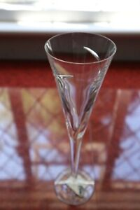 """1 Waterford Crystal """"Siren"""" Champagne Flute Unused + Labels Irish Made 28cm tall"""
