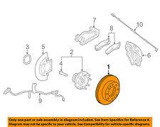 GM OEM Front Brake-Disc Rotor 84261376