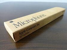Vintage Apple Computer Mic Original 1991 Apple Electret Condenser Microphone