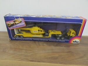 Vintage Siku 3719 Ford Cargo with Helicopter 1:55 Diecast Metal Model in Box