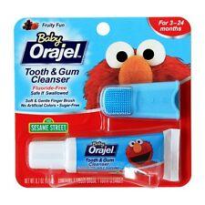 Baby Orajel Tooth And Gum Cleanser - Fruit Flavor 0.7 oz