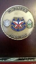 A26 4013th Garrison Support Unit Cajun Thunder Challenge Coin Rare
