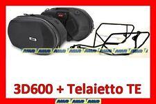 BORSE LATERALI TPH10 3D600 + TELAIO TE1101 HONDA CB1000R 2008-2012 litri 18/28