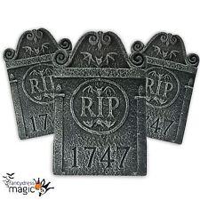 Descanse en piezas Rip lápida cementerio lápida Decoración de Halloween Nuevo
