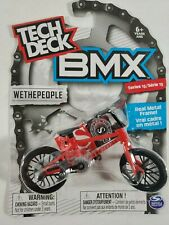 Spin Master Tech Deck BMX Bike - Series 13 - WethePeople - Red Metal Frame Bike