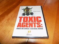 TOXIC AGENTS VIRUSES CHEMICAL BIOLOGICAL WARFARE PLAGUES FLU DVD SET SEALED NEW