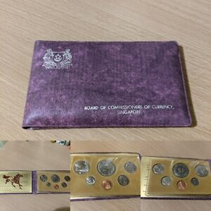 Singapore 1978 Year of the Horse Mint Set, Scarcest Date