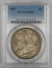 1900 Morgan Silver Dollar $1 PCGS MS-62 Toned (Better Coin) (4C)