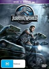 Jurassic World (DVD, 2015) NEW R4