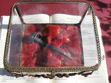 Vatican reliquary 1800s relic Holy Nail passion Jesus Christ COA