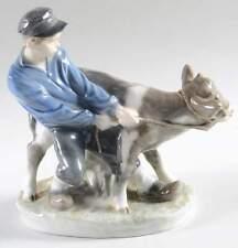 Royal Copenhagen Boy With Calf Figurine #772 75764