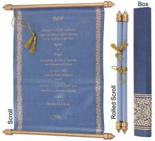 25Pcs Bulk Scroll Wedding Invitations Birthday Invitation Scrolls Cards