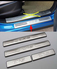 Outer Door Sill Protector Bumper for 2012-2016 Mazda CX-5 CX5 Steel