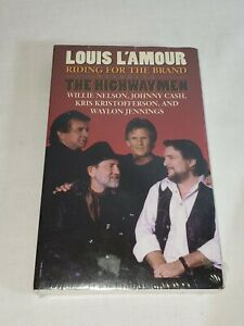 Vintage The Highwaymen RIDING FOR THE BRAND Louis L'Amour Audiobook Cassette NEW