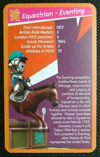 1 x card single swap Olympic Sports Equestrian - Eventing