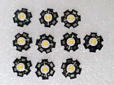 10pcs 3W 3 - 3.6V 700ma 200-280LM LED Chip with 20mm Star Bead - Warm white