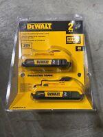 New Dewalt DCB203-2 20V Max Batteries 2.0Ah Lithium Ion Li-Ion 20 Volt