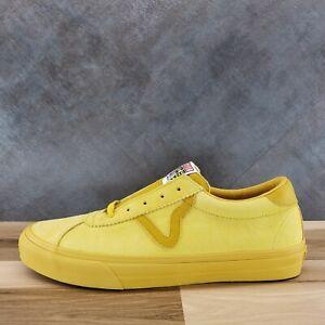VANS Vault Epoch Sport LX Sneakers 'Ceylon Yellow' - Men's Size 12