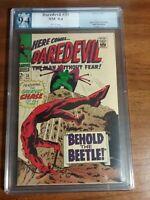 DAREDEVIL #33 PGX 9.4 NOT CGC Stan Lee Story 1967 Marvel Comics NM Near Mint