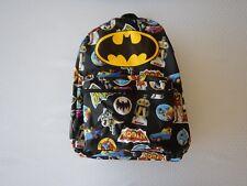 Batman Robin Justice League DC Boys Girls Youth Kids Bookbag School Backpack