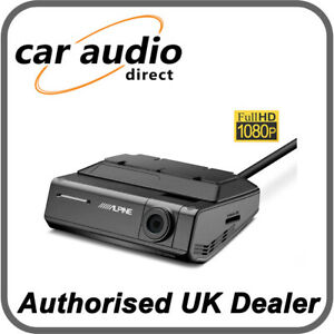 Alpine DVR-C320S Front Facing Advanced Dash Camera with Driver Assistance HDR