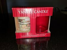 Yankee Candle Christmas Cookies Votive and Jar New In Box