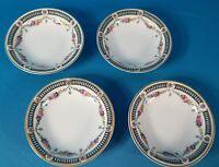"Crown Imperial 5"" Dessert Bowl Set of 4 Czecho-Slowakia Pattern Code CIM88"
