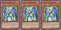 Elemental Hero Prisma  New * RYMP X *3* RA YELLOW MEGA PACK YU-GI-H! Mint Cards