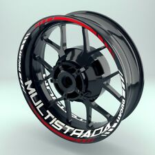 Felgenaufkleber Motorrad Felgenrandaufkleber  Wheelsticker Ducati_Multistrada