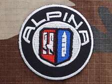 A076 THERMOADHESIVE PATCH aufnaher toppa ALPINA automobile bmw b7 b3 d3