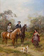 Hardy Heywood A Morning Ride Canvas 16 x 20    #4980