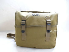 WWII US MILITARY M1936 M36 CANVAS BREAD BAG