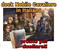 Yu-Gi-Oh! Deck Mazzo Completo - Nobile Cavaliere - ITALIANO - 40 Carte