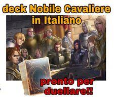 Yu-Gi-Oh! Baraja Completo - Noble Caballero - Italiano - 40 Tarjetas