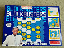 BLOCKBUSTERS Vintage 1982 Board Game Waddingtons Complete EXCELLENT CONDITION