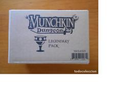 MUNCHKIN DUNGEON - LEGENDARY PACK - KICKSTARTER EXCLUSIVE - NUEVO (9T)