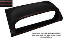 RED STITCHING SPEEDO HOOD SKIN COVER FITS NISSAN X-TRAIL 2005-2007 FACELIFT