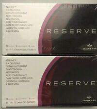 4 Box JEUNESSE RESERVE brand new 30 pack box exp 05/21