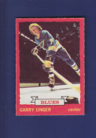 Garry Unger 1973-74 O-PEE-CHEE OPC Hockey #15 (EXMT) St. Louis Blues