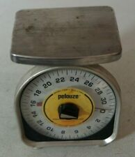 Vintage Pelouze Y32R Scale Stainless Steel Food Portion Controller 32oz
